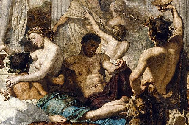I Romani Della Decadenza — Thomas Couture
