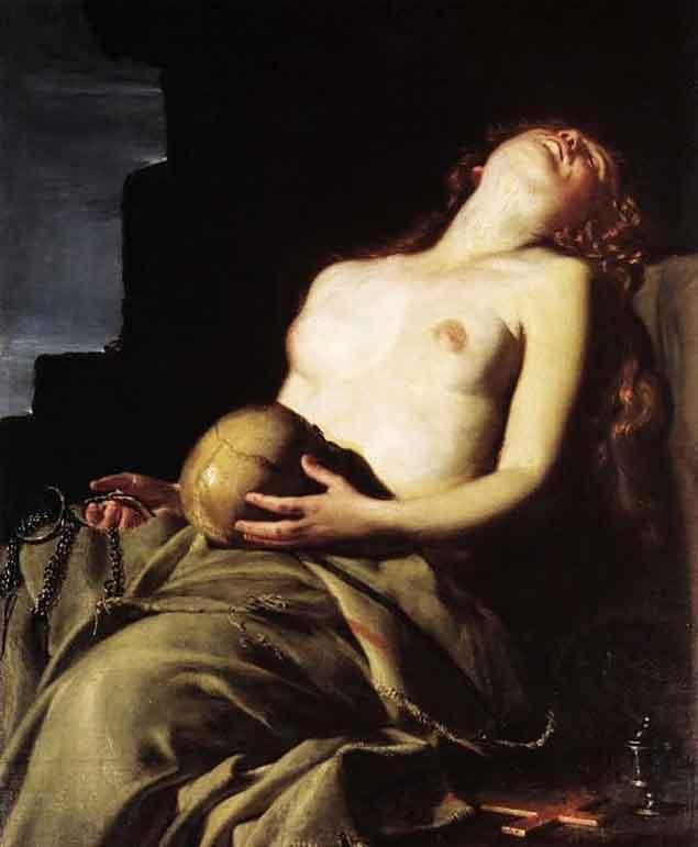 Maddalena penitente — Guido Cagnacci