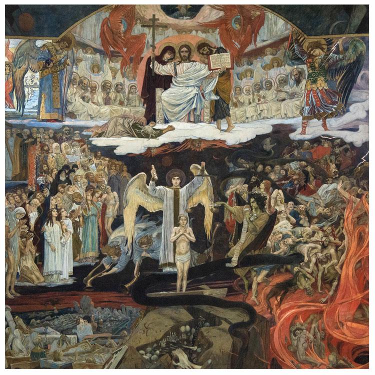 Viktor Vasnetsov, The last judgement, 1904 / Viktor Vasnetsov, Judecata de Apoi, 1904